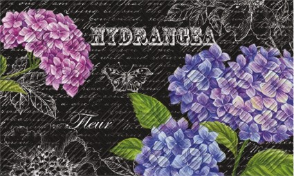 Hydrangeas Indoor/Outdoor Mat