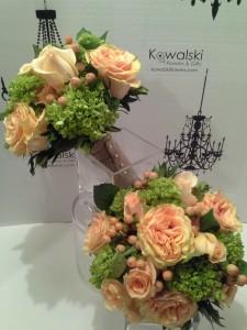 Hydrangeas & Roses Bridesmaid Bouquet