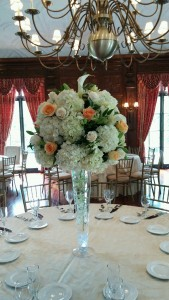 Magnificent Hydrangea White And Peach Roses Calla Lilies Tall Download Free Architecture Designs Scobabritishbridgeorg