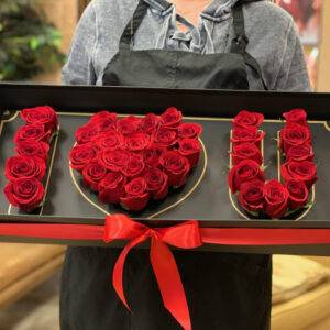 I <3 you Box of Roses ! <3 you box