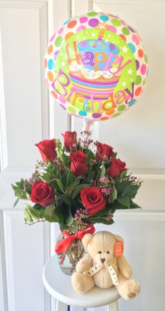 Birthday Package Top SELLER in Whittier, CA | Rosemantico Flowers