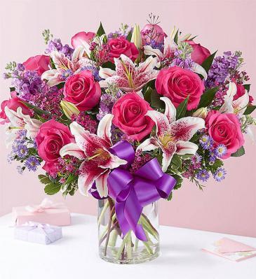 I Adore You Vase Arrangement