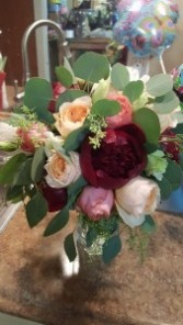 I do bridal bouquet