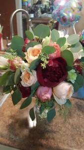 I do bridal bouquet