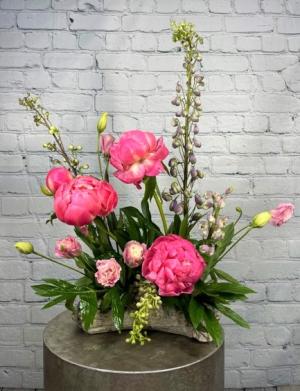 I Dream of Peonies Flower Arrangement in Summerville, SC | The Tilted Tulip