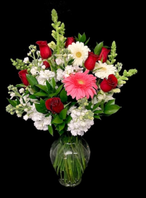 Crush on You Red Rose Mix in Plainview, TX | Kan Del's Floral, Candles & Gifts
