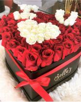 I Heart You - Supreme Fresh-Cut Roses