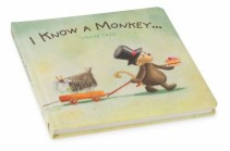 I Know A Monkey Book Newborn Gift