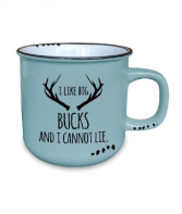 I Like Big Bucks Mug