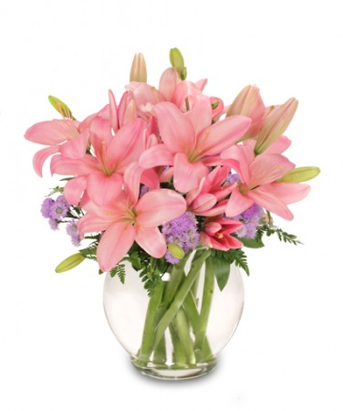 I Lily Love You Bouquet In Devils Lake Nd Marks Greenhouse And