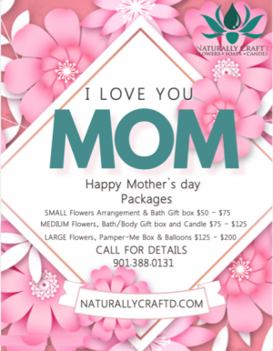 I LOVE MOM DEALS Get some of these amazing Mother's Day Deals in Bartlett, TN | NATURALLY CRAFT'D