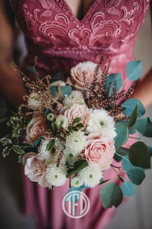 I love pink! Bridesmaid bouquet