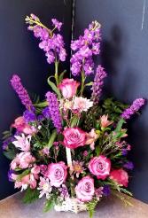 I Love Purple Basket