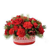 LOVELY RED VASE