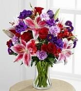 I Love U Vase Arrangement