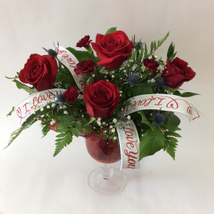 I Love You Arrangement   in Goderich, ON | LUANN'S FLOWERS & GIFTS