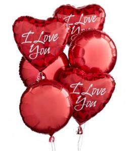 Half Dozen Romance   Balloon Bouquet in Winter Springs, FL | WINTER SPRINGS FLORIST AND GIFTS