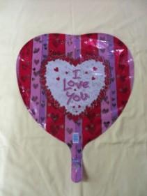 I Love you Balloon 3 Mylar Balloon