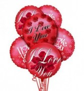 'I Love You'  Balloon Bouquet