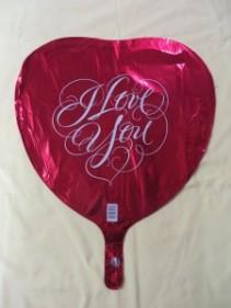 I Love You Balloon Mylar Balloon