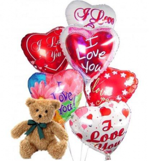 I Love You Balloons Everyday  in Coral Gables, FL | FLOWERS AT THE GABLES