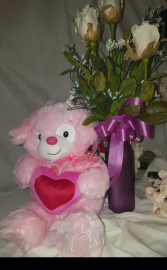 I Love You Bear Stuffed animal available as add on only