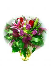 I Love You Bouquet Vase