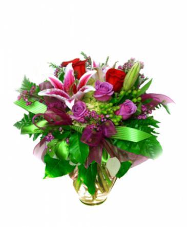 I Love You Bouquet Vase Arrangement