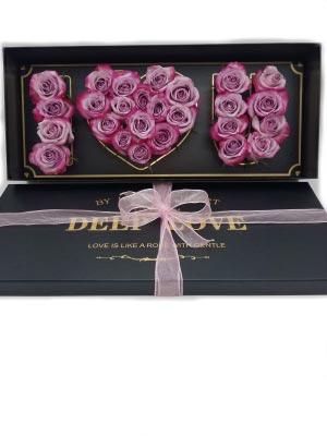 I Love You Box Mom Box Of Roses in Miami, FL | FLOWERTOPIA