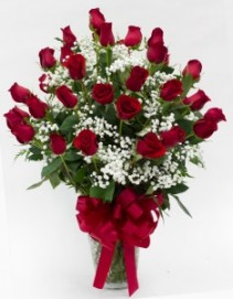 "You're Always In My Heart!! Three Dozen Long Stem Roses!! With A 9"" Mylar Balloon Stick Included"