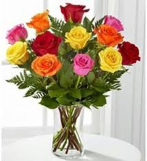 I Love You In Many Ways Multi Colored Roses