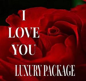 I LOVE YOU  LUXURY ROSE PACKAGE in Lewiston, ME | BLAIS FLOWERS & GARDEN CENTER