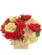 I LOVE YOU MOM Floral Arrangement