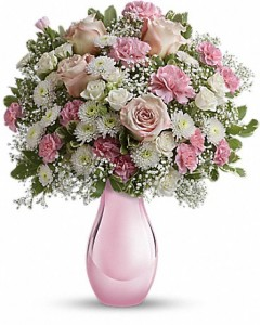 I LOVE YOU! Teleflora Pink Reflections