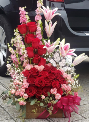 I love you More !!!!!!! Rose and Lilly  in Ozone Park, NY | Heavenly Florist
