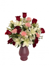 I Love You More... Vase Arrangement