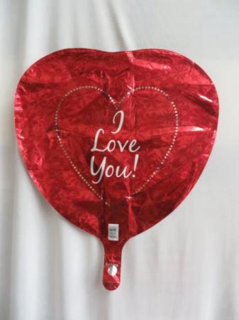 I Love You Mylar Balloon Mylar Balloon