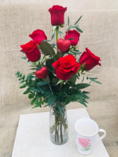 I Love You  Rose Vase