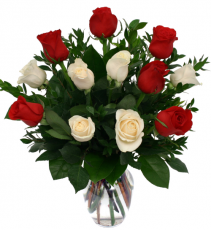I love you Roses - 852 Vase Arrangement