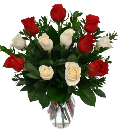 I love you Roses  Vase Arrangement