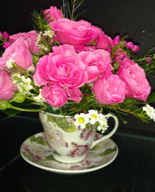 Tea Cup of Love Tea Cup & Saucer in Jacksonville, AR | Jacksonville Florist & Gifts
