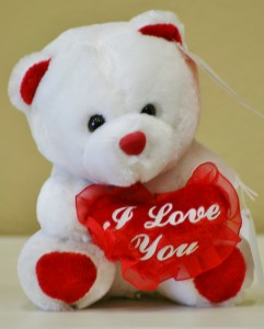 I LOVE YOU Teddy Bear in Riverside, CA | Willow Branch Florist of Riverside