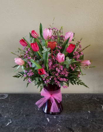 I Love You Tulips Exclusively at Mom & Pops