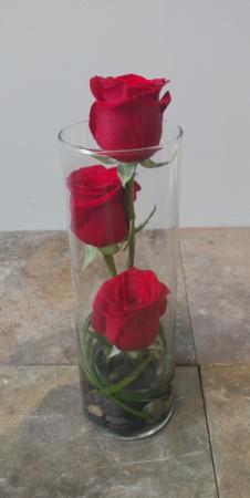 I Love you Vase Arrangement