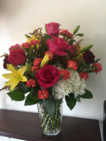I miss you  Floral arrangement