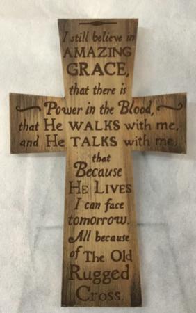 I Still Believe Cross Gift