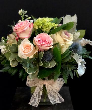 Cherish Rectangular vase