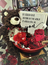 I would choose you Valentine gift basket