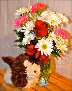 "I ""Wuff"" You Bouquet All Around in Des Plaines, IL 