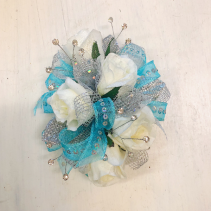 White Ice Corsage